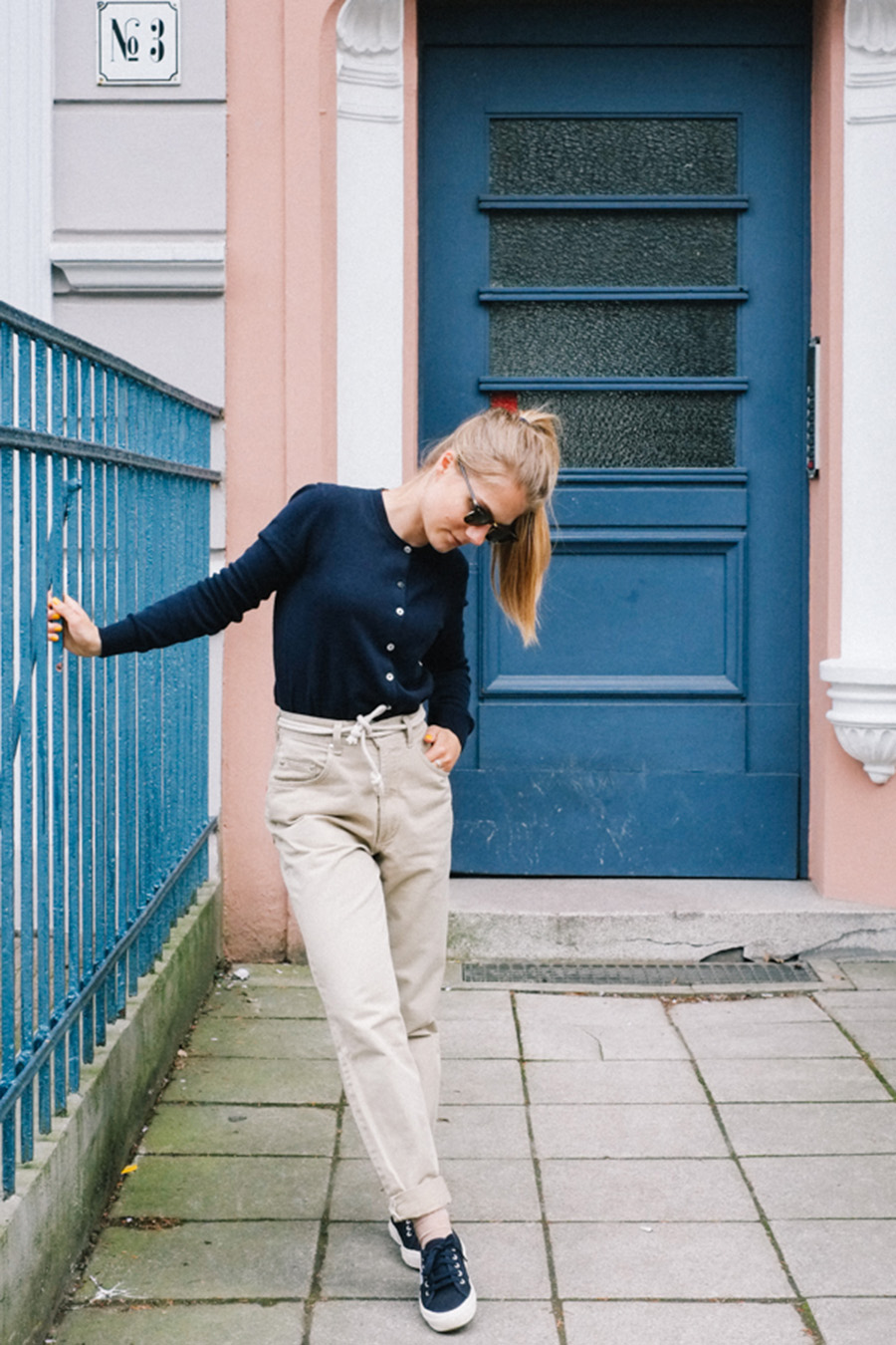 NicetohaveMag_fairfashionOOTD_PeopleTree_navy_Superga_Joop_Outfit_fair_fashion_slowfashion_Kleiderkreisel