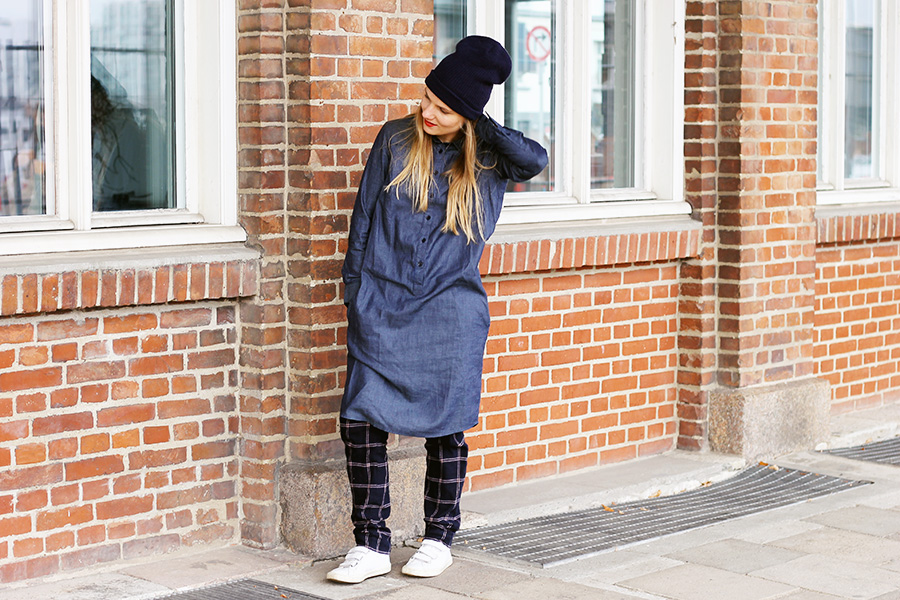 nicetohavemag-peopletree-beanie-shirtdress-chambray-fairfashion