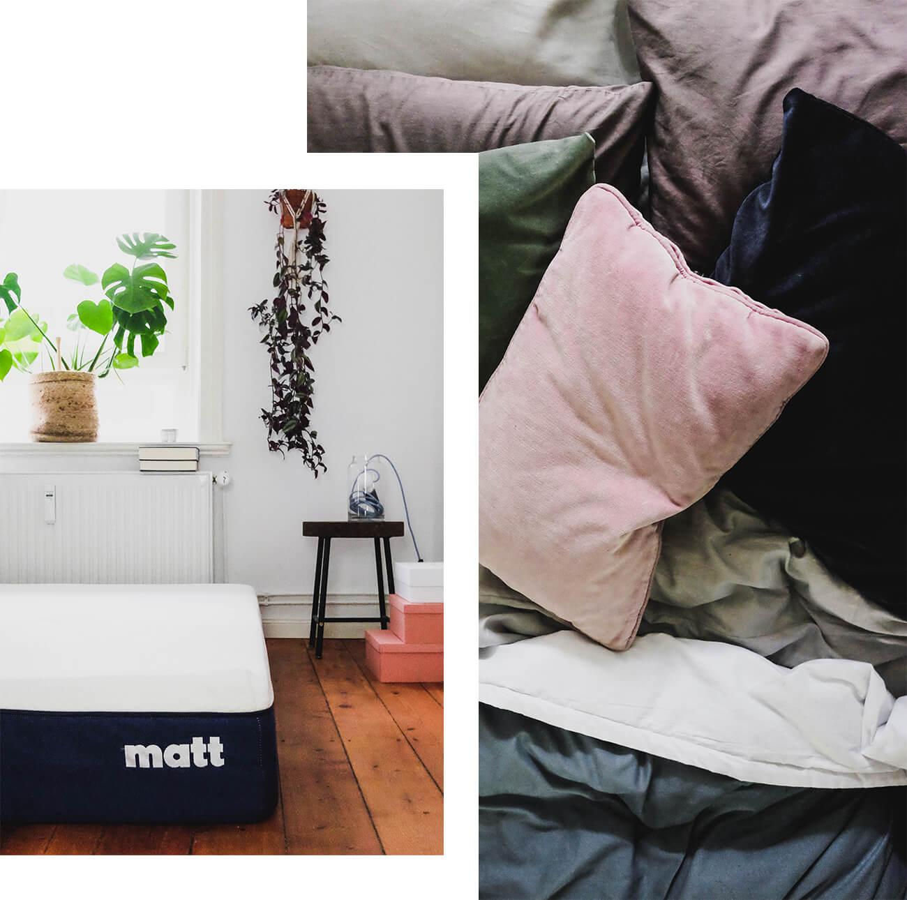 Favorit Interior / Besser schlafen: Ein Test mit der Matratze von Matt KU62